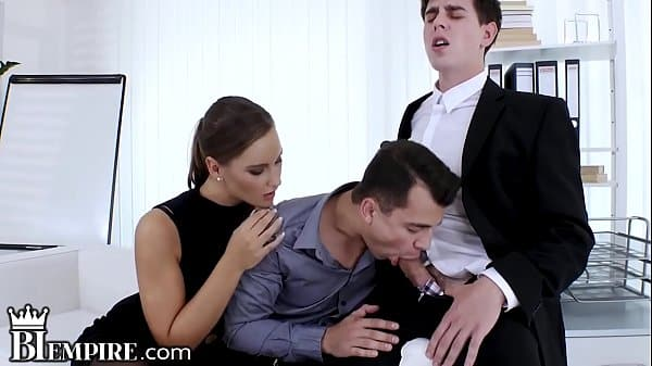 BiEmpire Bi Couple gets Excited to Share Dick!