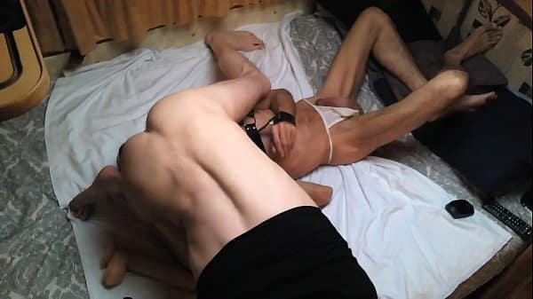 Latina Bitch whore taking up in the ass